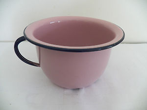 Purple spherical chamberpot cartoon