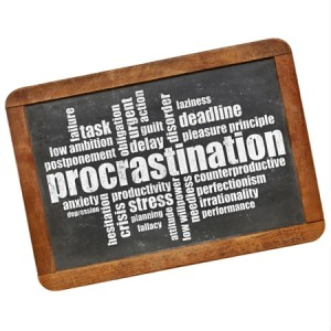 Procrastination – the killer of ideas