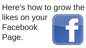 Growing likes on your Facebook page