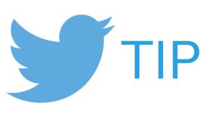 Twitter Tip